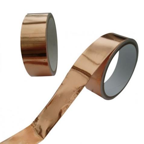 Ruban cuivre répulsif limaces adhésif 30 mm X 4 mètres